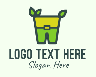 Enviroment - Green Leprechaun Costume logo design