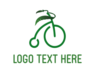 Bicycle - Organic Bicycle logo design