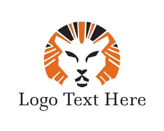 Lion - Lion Mane logo design