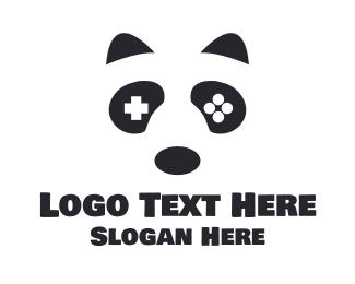 Video Game - Gaming Panda logo design
