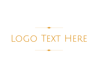 Quality - Golden Wordmark logo design