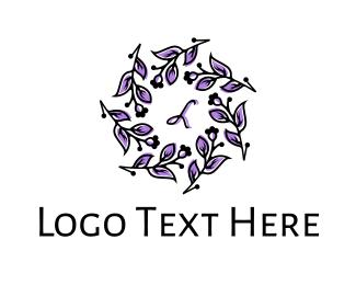 Lettermark - Stylish Floral Lettermark logo design