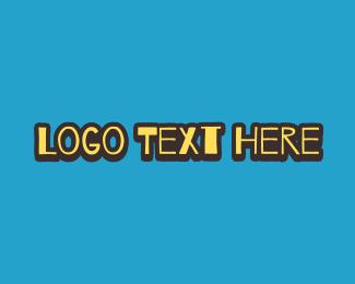 Text Logo - Doodle Style Wordmark logo design