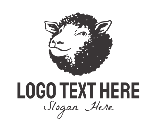 Livestock - Black Sheep logo design