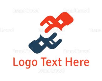 Home Furnishing - Chair Duo logo design