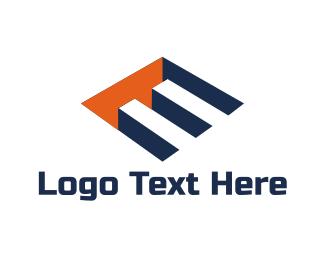 Hole - Letter E logo design
