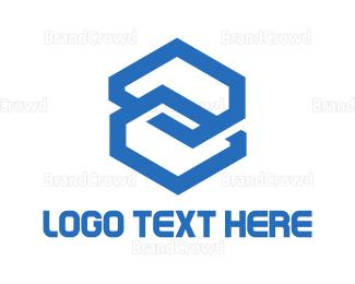 Connection - Hexagonal Connection logo design