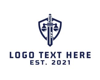 Justice Shield  Logo