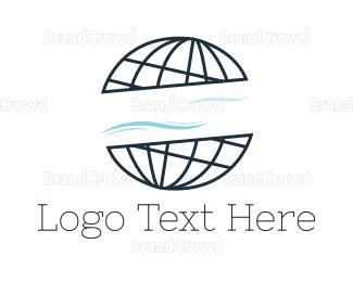 Globe - Abstract Globe logo design