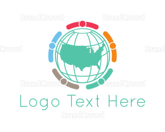 Political - American Business logo design