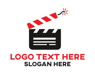 Directing - Dynamite Film Studio logo design
