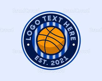 Basketball Team - Basketball Sport Emblem logo design