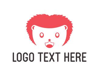 Hedgehog - Happy Hedgehog Mascot logo design