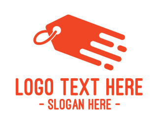 Hangtag - Orange Price Tag logo design