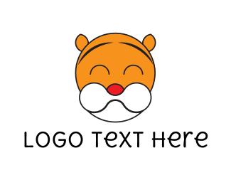 Jaguar - Cute Tiger logo design