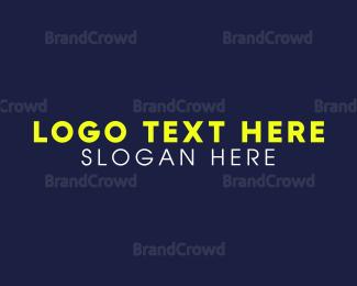Contemporary - Yellow & Modern  logo design