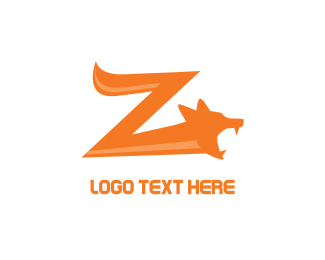 Fangs - Fox Z logo design
