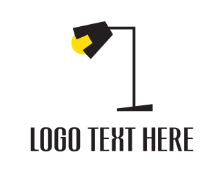 Deco - Black Lamp logo design