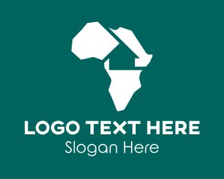 Hospitality - Africa Housing  logo design