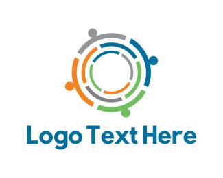 Small Business - Human Group logo design