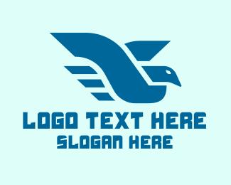 Fly - Flying Bird logo design