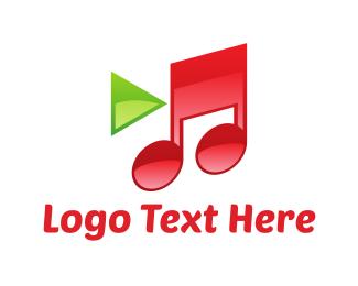 Hulu - Music & Video logo design