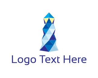 Lighthouse - Crystal Lighthouse  logo design