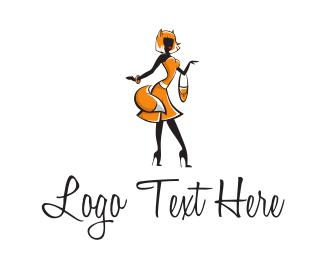 Costume - Fox Lady logo design