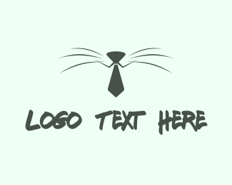 Puppy - Business Cat logo design