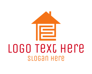 Chimney - Home Maze logo design
