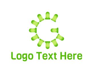 Led - Led Letter G logo design