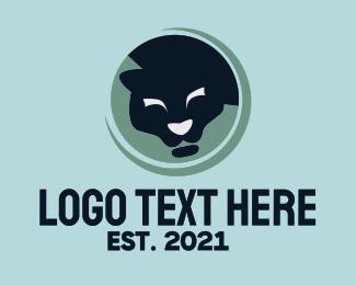 Wild - Wild Panther  logo design