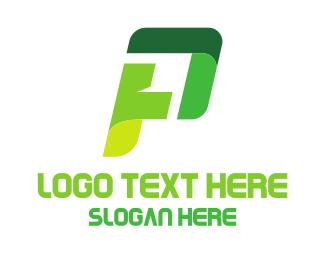 Letter P - Game Letter P logo design