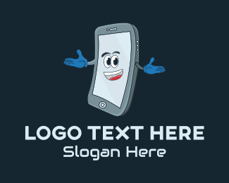 Mobile Devices - Mobile Phone Mascot logo design
