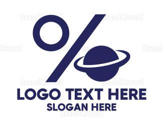 Planet - Discount Planet logo design