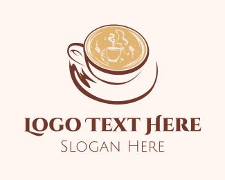 Exotic - Coffee Cappuccino logo design