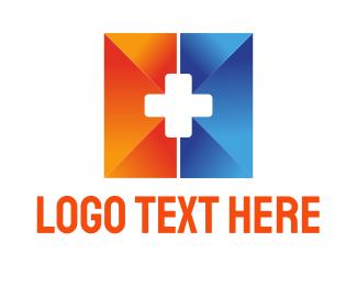 Drug Store - Medical Cross logo design