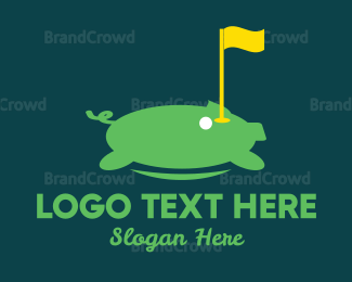 Hole - Golf Tournament logo design