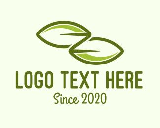 Letter Z - Leaf Letter Z logo design