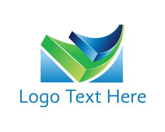 Wave - Tech Waves logo design