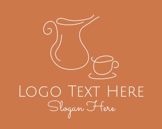 Tea Cup - Tea Cup Pitcher logo design