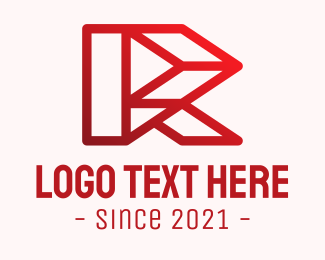 Architecture - Technology Letter R logo design