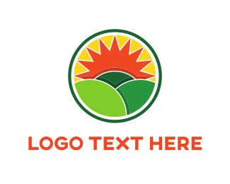 Field - Green Fields logo design