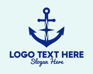 Cruise - Anchor Star Cruise  logo design