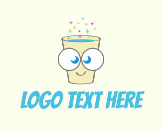 Drink - Happy Fizzy Drink logo design