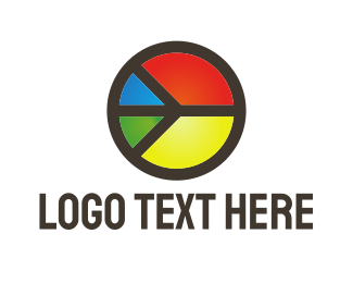 70s - Colorful Peace logo design
