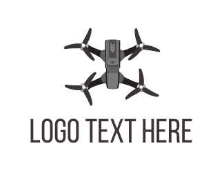 Photo - Grey Drone logo design