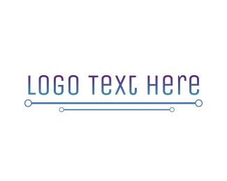 Name - High Tech Wordmark logo design