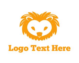 Cute Lion Logo