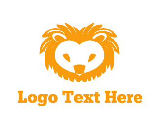 Nursery - Cute Lion logo design